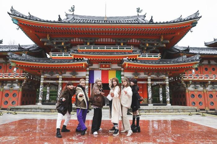 (左から)菅沼ゆり、柴田紗希、古関れん、舟山久美子、前田希美、椎名ひかり(写真提供:MBS)