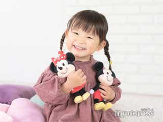 """""""2歳の歌姫""""ののちゃん、大きくなったらミッキーに?可愛すぎる姿に釘付け"""