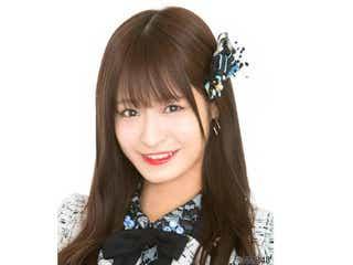 """NMB48清水里香、水着""""ちらちら""""サービスショットに「天才すぎる」「刺激が…」絶賛の声"""
