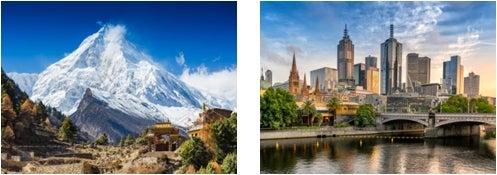 ネパール、メルボルン/画像提供:AAE Japan