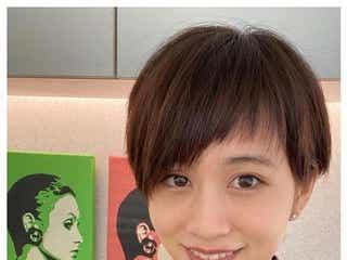 前田敦子、アシメ前髪×オレンジブラウンにイメチェン「次のお仕事の役柄イメージに合わせて」