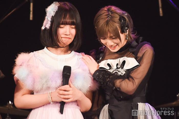 矢作萌夏、岡田奈々/「AKB48グループ歌唱力No.1決定戦」決勝大会 (C)モデルプレス