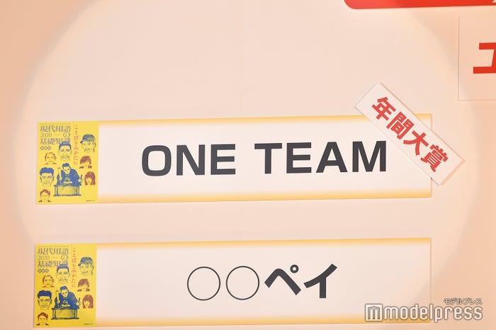 「ONE TEAM」が年間大賞に (C)モデルプレス