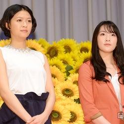 榮倉奈々&知英が公開キス「今日は顔を洗いません!」