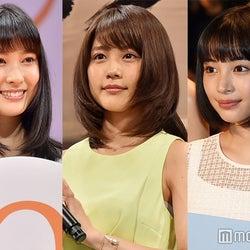 有村架純、広瀬すず、土屋太鳳ら「日本アカデミー賞」新人俳優賞