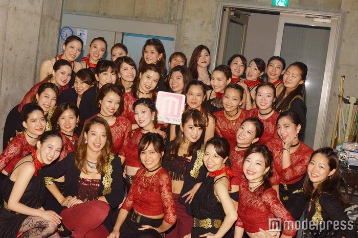 yuka+yurika+moemi (C)モデルプレス