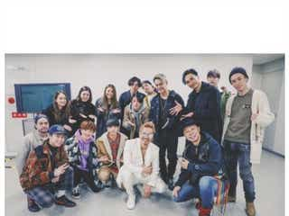EXILE ATSUSHI帰国ライブ、三代目JSB今市隆二ら「豪華すぎる」仲間達が集結
