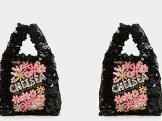 「アニヤ・ハインドマーチ」に、明治「チェルシー」のモチーフのバッグが仲間入り。