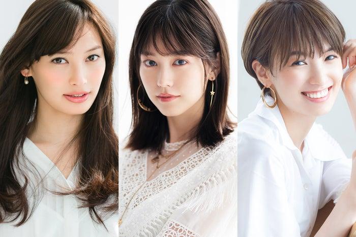(左から)大政絢、桐谷美玲、南明奈(提供写真)