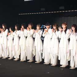 櫻坂46(C)マイナビ 東京ガールズコレクション 2021 SPRING/SUMMER