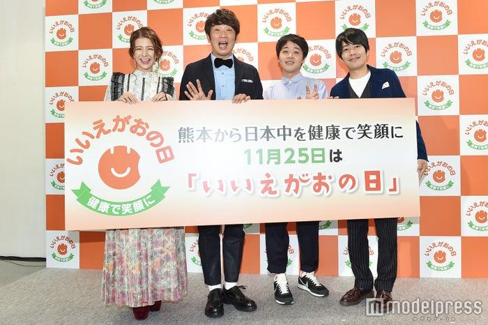 左から:スザンヌ、木本武宏、金子学、阿諏訪泰義(C)モデルプレス