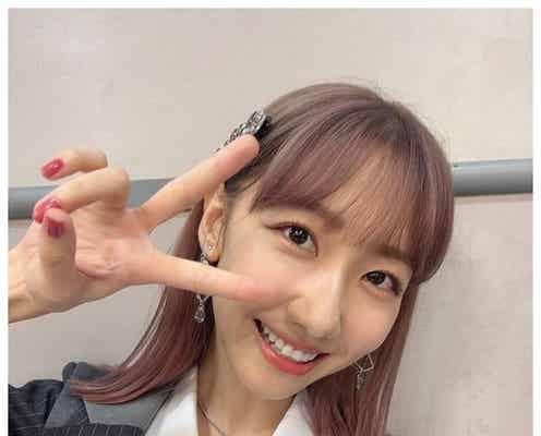 AKB48柏木由紀、ピンク髪&前髪パッツンにイメチェン「最高に可愛い」「似合ってる」と絶賛の声