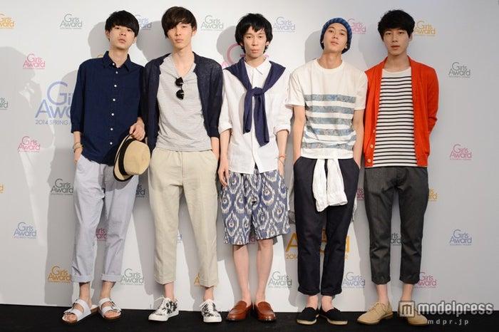 (左から)成田凌、守屋光治、小松史弥、高橋義明、坂口健太郎