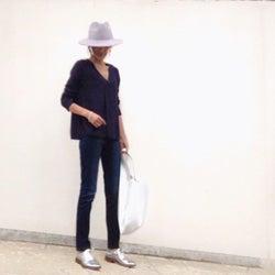 メタリック靴がトレンドに♡ コーデは足元から変えていく!