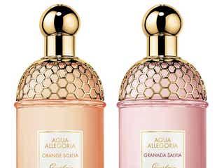ゲランのフレグランス「アクア アレゴリア」に2種類の新香調が仲間入り