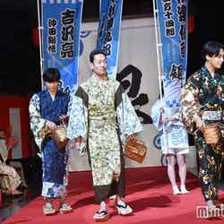 吉沢亮、中村勘九郎、柳楽優弥 (C)モデルプレス