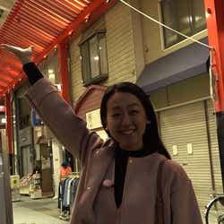 練習場がある名古屋・大須にて(提供写真)