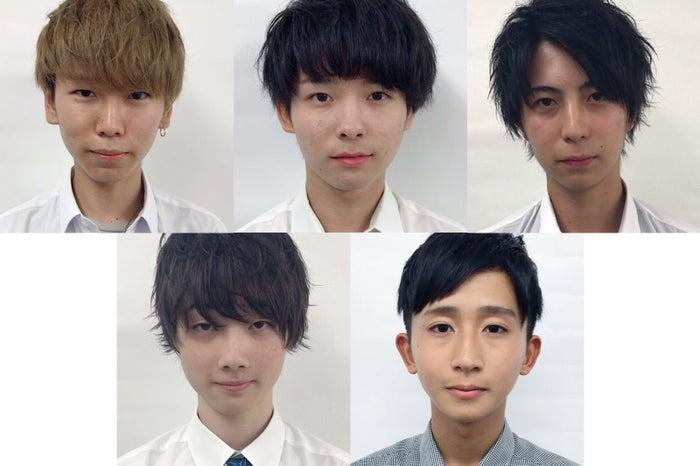 「男子高生ミスターコン」中部地方予選【中間発表の上位者5人】