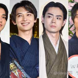 横浜流星、吉沢亮、菅田将暉、福士蒼汰 (C)モデルプレス