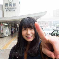 長濱ねる「#長濱ねると長崎デートなうに使っていいよ」(提供写真)