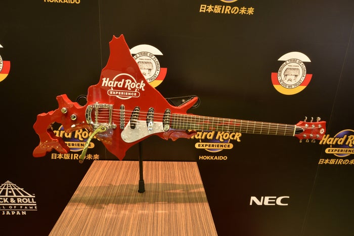 北海道型ギター/画像提供:ハードロック・インターナショナル