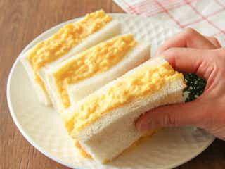 タマゴサンドは「2つのコツ」でもっとおいしくなる!一度食べたら忘れられない、タマゴサンドの簡単レシピ