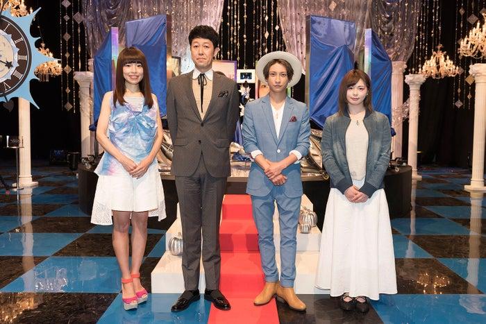 (左から)久保友香、小籔千豊、AAA與真司郎、ayaka.(画像提供:NHK)