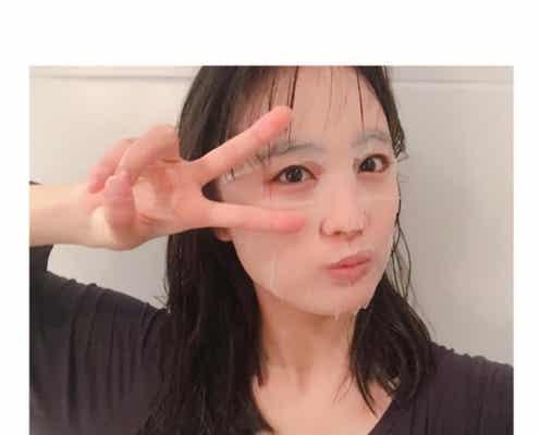 大友花恋、濡れ髪&透明美肌透けるパック姿に「すっぴん?」「色っぽい」と反響