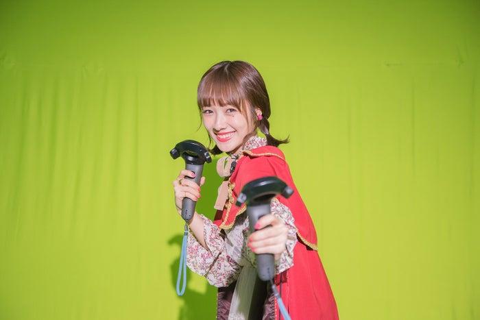 前田希美が勇者に?(写真提供:MBS)