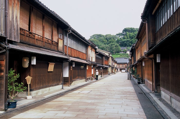 金沢市の人気観光エリア・ひがし茶屋街/写真提供:金沢市