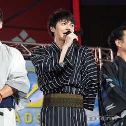 (左から)沢村一樹、林遣都、吉田鋼太郎 (C)モデルプレス