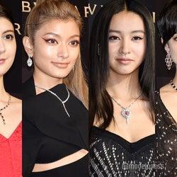 【写真特集】ローラ・森星・Koki,・マギーら、SEXYドレスでゴールデンカーペットに豪華集結<BVLGARI AVRORA AWARDS 2019>