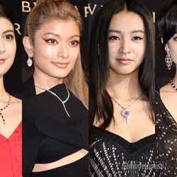 マギー、ローラ、Koki,、森星(C)モデルプレス