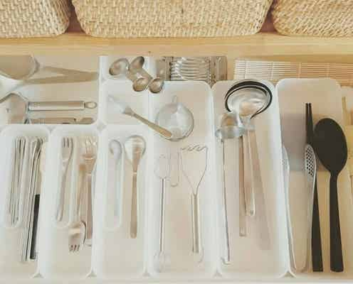 ぴったりフィット!家事もサクサク進む、無印良品を使ったキッチン収納実例集