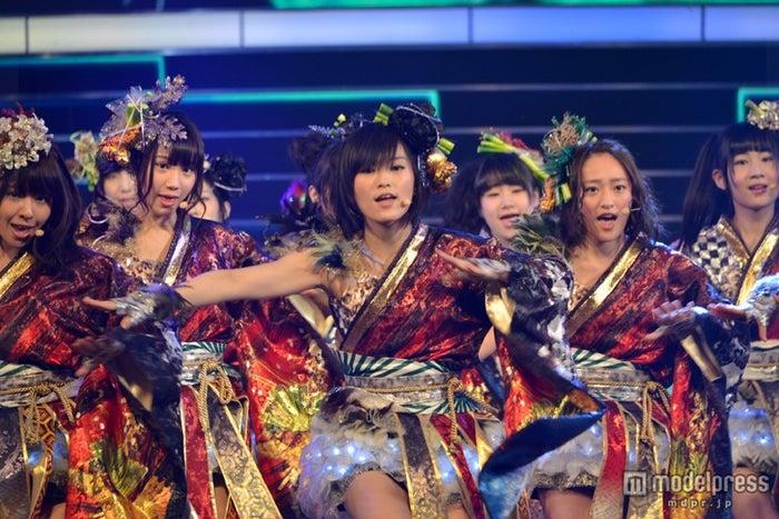 「第64回NHK紅白歌合戦」に出場したNMB48/リハーサルより