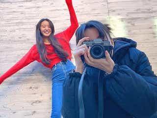 Cocomi&Koki,、仲良し姉妹撮影ショットに反響「最高の笑顔」