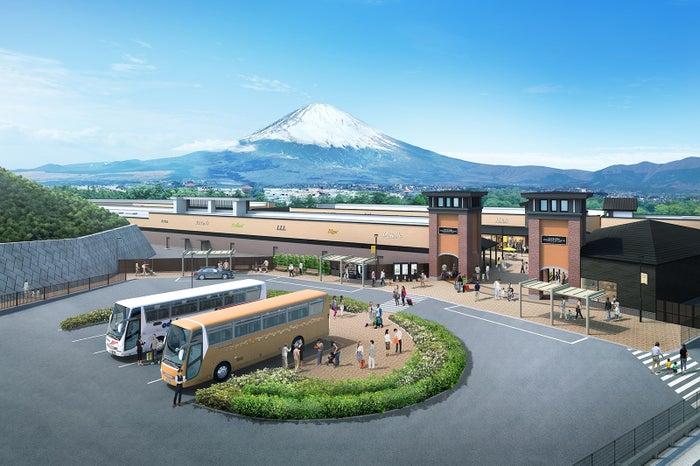 「ヒルサイド バスターミナル」イメージ/画像提供:三菱地所・サイモン