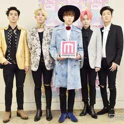 WINNER(左から)ソン・ミンホ、ナム・テヒョン、カン・スンユン、キム・ジヌ、イ・スンフン(C)モデルプレス