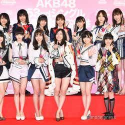 「AKB48 53rdシングル 世界選抜総選挙」選抜メンバー(C)モデルプレス