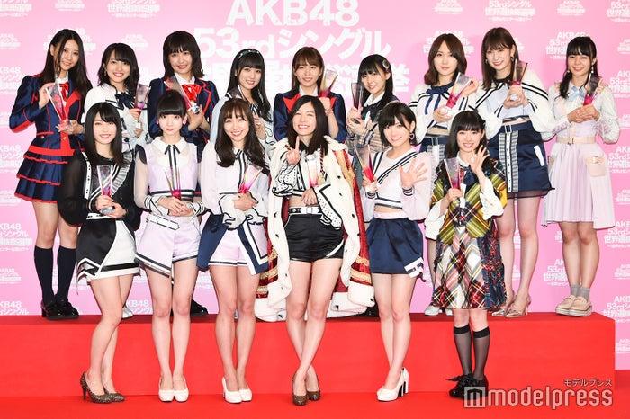 AKB48 /「第10回AKB48世界選抜総選挙」にて(C)モデルプレス