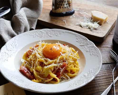 相性100%♡かぼちゃとチーズの濃厚カルボナーラ&スコップコロッケレシピ