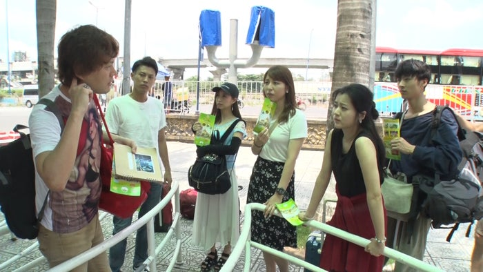「ラブアース」出演者(左から)マサキ、もっちゃん、りなぷぅ、マヤ、るみ、祐(画像提供:テレビ朝日)