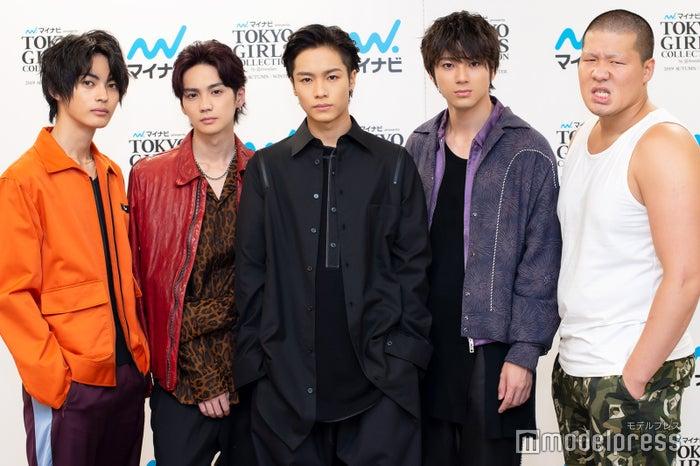 モデルプレスのインタビューに応じた(左から)神尾楓珠、吉野北人、川村壱馬、山田裕貴、一ノ瀬ワタル(C)モデルプレス