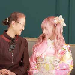 祖母と望月めるさん (画像提供:講談社)