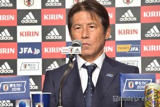 <W杯日本代表 帰国会見>西野朗監督、退任へ 田嶋幸三会長が今後に言及