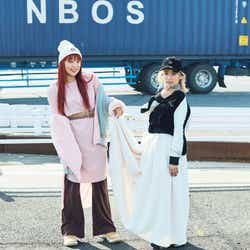 YURINO&須田アンナ「mini」1月号(2017年12月1日発売、宝島社)/画像提供:「mini」(宝島社)より