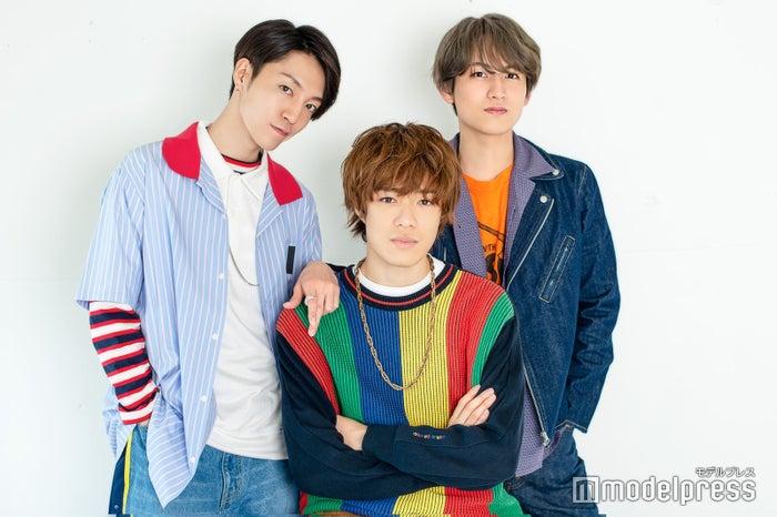 3人部屋:森田美勇人、真田佑馬、萩谷慧悟(C)モデルプレス