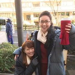 榮倉奈々&大島優子が密着2ショット「笑いすぎてます」 イメチェンにも絶賛の声