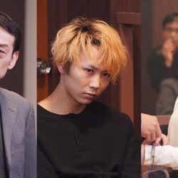 (左から)吹越満、須賀健太、川島海荷(C)日本テレビ