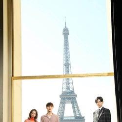 窪田正孝・松田翔太・山本舞香、パリへ 現地の「東京喰種」ファン沸かせる